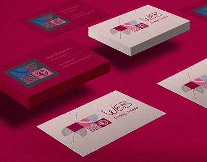 Business Card for UX/UA Designer