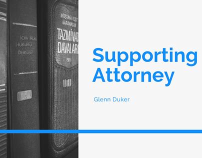 Supporting Attorney- Glenn Duker