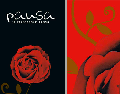 Pausa restaurant catalogues