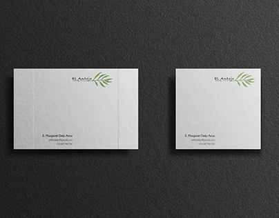 El Antojo Catering. Bussines Card and Logotipe