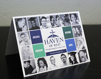 Assorted Print Materials - Haven of Rest