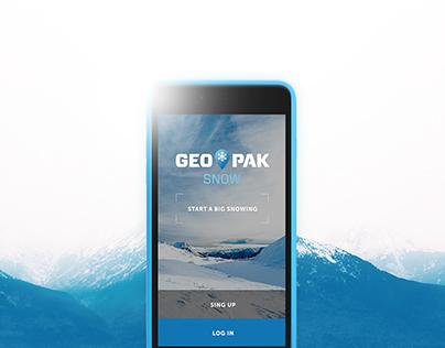 Geo Pak Snow | Topographic app