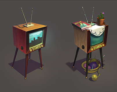 Concept art: TV