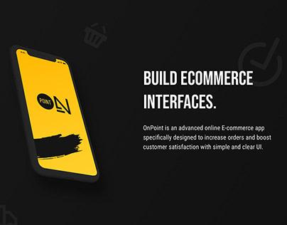 OnPoint E-commerce App & UI-Kit for Figma (FREE)