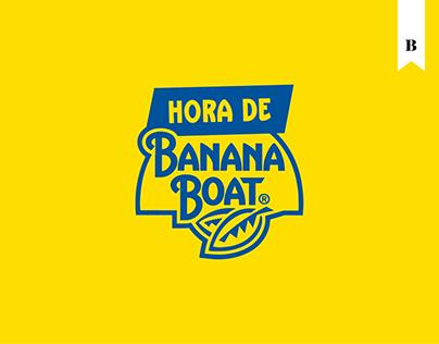Hora de Banana Boat
