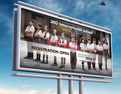 JKG International School | Ad Campaign