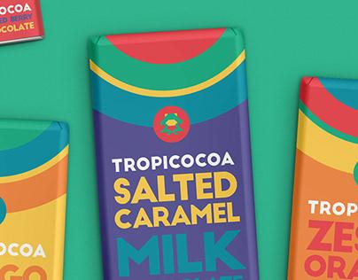 Tropicocoa Chocolate | branding