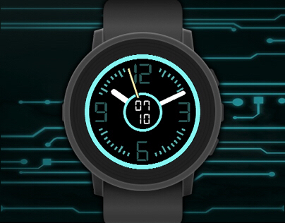 TRONic watchface for Pebble smartwatches