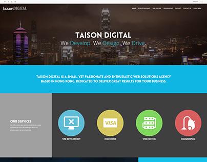 Taison Digital website