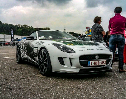 Jaguar F-Type Runball Rally 2017