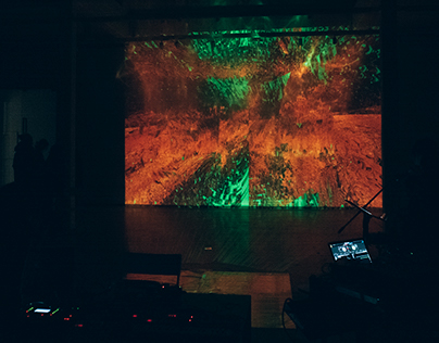 SPACE (audio-visual performance/jam)