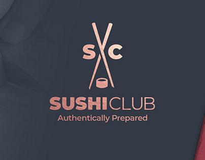 Sushi Club Brand Design Project