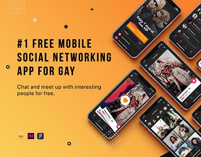Pinger - Dating App UI Design on Behance