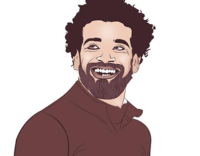 Victor Art Mohamed Salah Adobe Illustrator