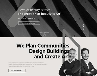 LINEZ Studio Website Design