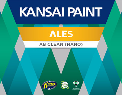 Kansai Paint Can Label Redesign