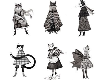 Inktober Kitties