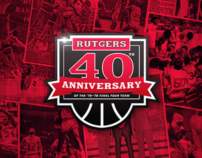 Rutgers Men's Basketball Final Four 40th Anniversary