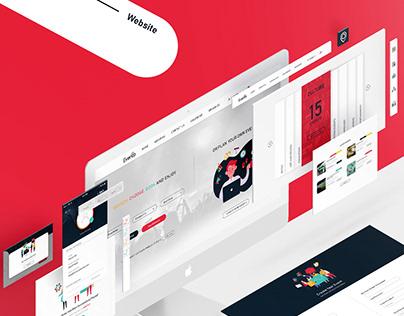 Evento. Logo - Website - Mobile App