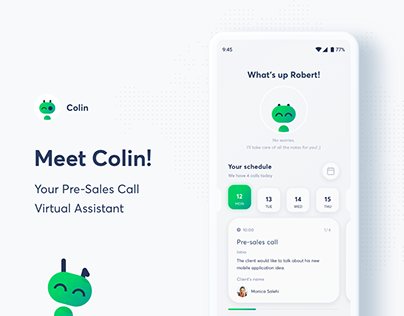 Meet Colin! Your Pre-Sales Call Virtual Assistant