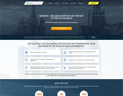 Webcom International   Landing