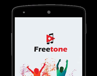 Freetone Ringtone app concept