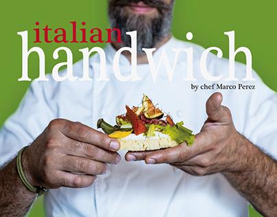 Handwich by Chef Marco Perez