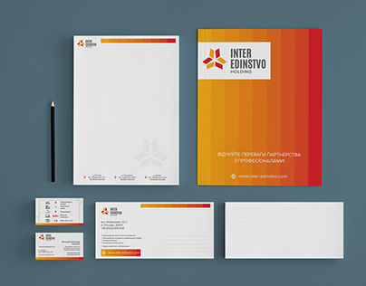 Corporate branding and identiry for company