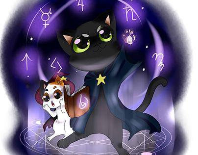 magical kitties