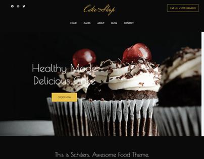 Cake Shop - HTML5 Responsive Landing Page