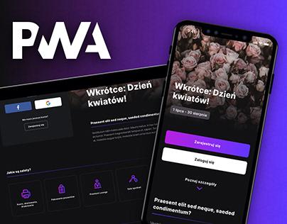 PWA Template for loyalty card program