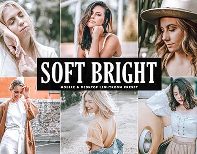 Free Soft Bright Mobile & Desktop Lightroom Presets