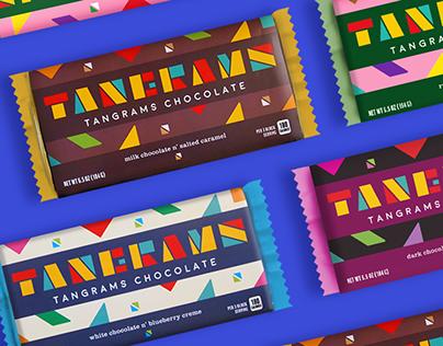 Tangrams Chocolate