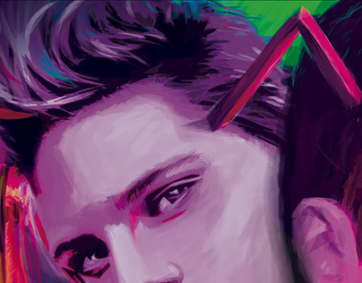 Digital Painting - Triangle