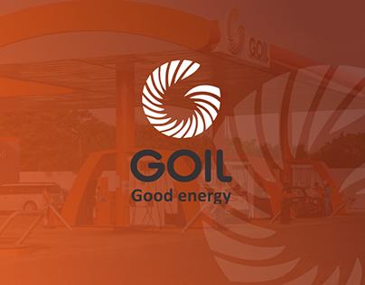 Goil Website UI