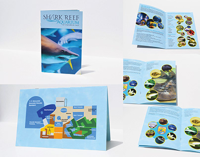 Mandalay Bay Sharkreef Aquarium Brochure