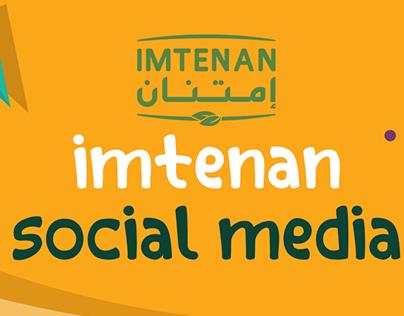 Imtenan Arabia - social media