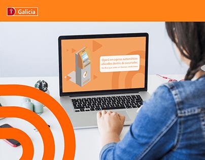 Campaña Ciberseguridad - Banco Galicia