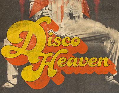 Poster design: Disco Heaven