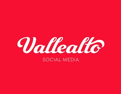 Vallealto - Social Media