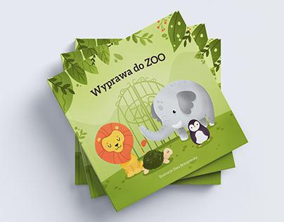 Personalized children book design - Wyprawa do zoo