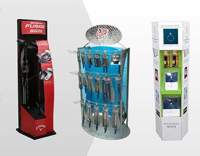 Retail Displays, Floorstands and Counter Units