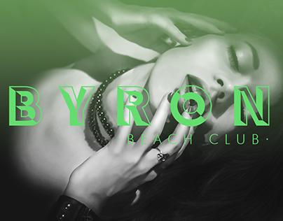 Logotipo BYRON Beach Club