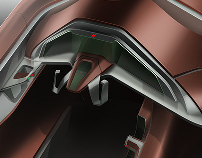 Electric Dodge Interior