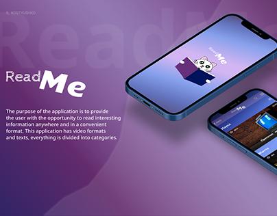 Read Me   app