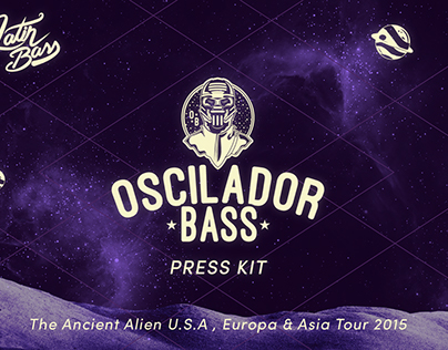Press Kit Ancient Alien Tour  (Editorial Design) 2015