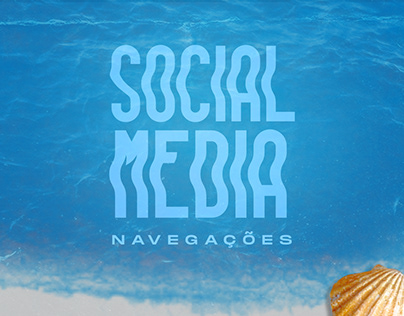 Social Media - Navegações