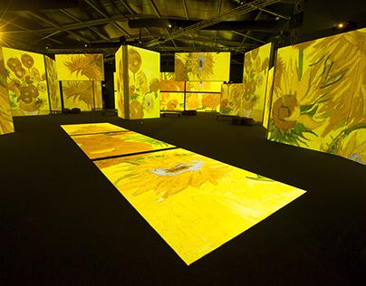 Van Gogh Alive SENSORY4™ traveling exhibition