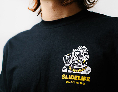 """GRAPHIC FOR """"SLIDELIFE CLOTHING"""""""