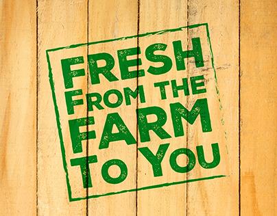 JP Farms Launch Newsprint Ad